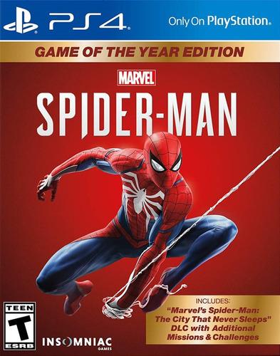 Spider-man Goty Juego Ps4 Original + Español + Garantía