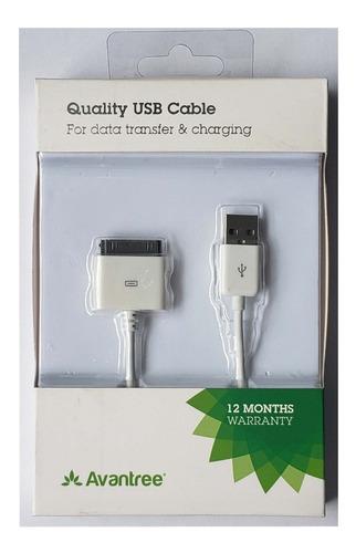 Cable De Datos Y Carga Para Ipad1, Ipad2, Ipad3, Iphone3,