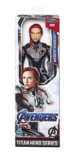 Muñeco Avengers Black Widow 30cm Titan Hero E3309 Hasbro