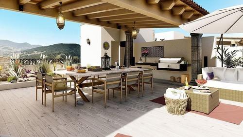 Penthouse De Lujo Con Roof Garden. San Miguel De Allende, Villas Los Cipreses.
