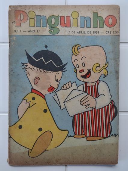 Pinguinho Nº 1 - Apuros De Seu Pamplona - O Malho - 1954