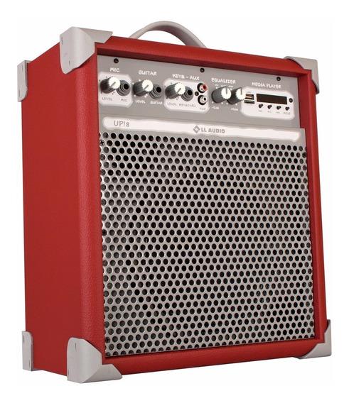 Caixa De Som Ll Audio Amplificada Up! 8 55w Rms