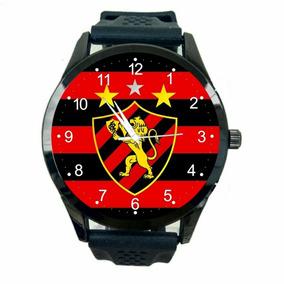 Relógio Sport Club Recife Masculino Barato Futebol Novo T631