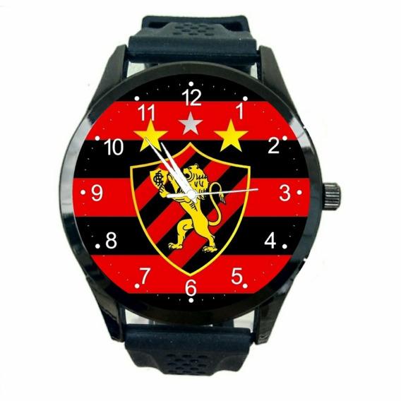 Relogio Personalizado Rubro Negro Leonino Unissex Time T632