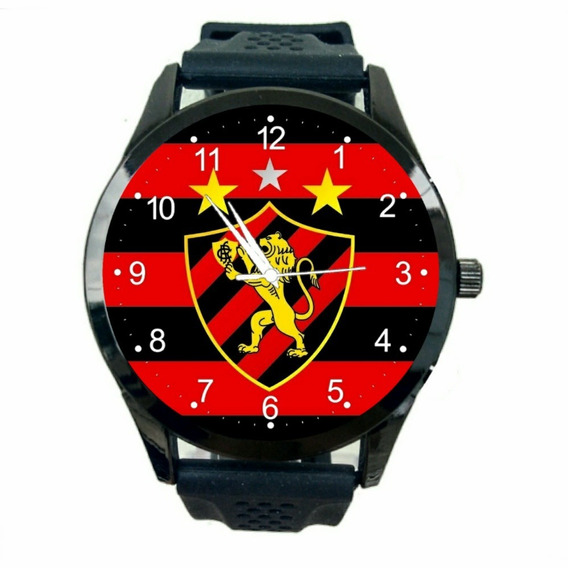 Relógio Sport Club Recife Unissex Futebol Esporte Time T632