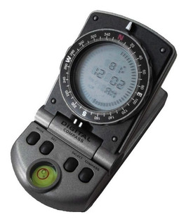 Bússola Digital C/ Relógio E Termômetro 2308 - Csr