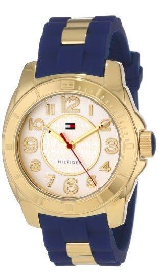 Tommy Hilfiger 1781307 Reloj Deportivo Chapado En Oro Con Co