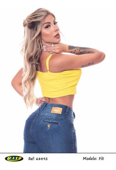 Calça Jeans Ri19 Modelo Fit Referência 68492