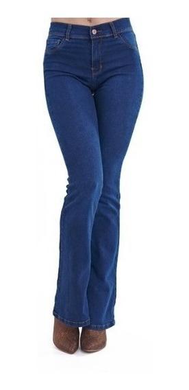 Pantalon Oxford De Jean Clasico Azul Claro Talles 36 Al 50