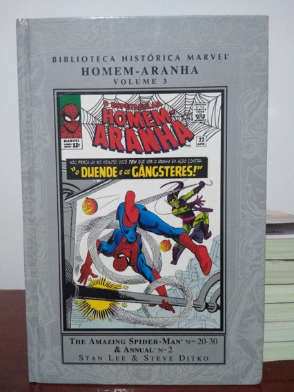 Hq Biblioteca Historica Marvel Homem-aranha 3 Panini