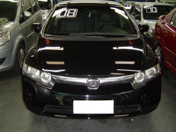 Honda New Civic 1.8 Lxs 16v Flex 4p Manual 2008