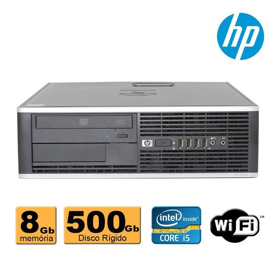 Cpu Hp Elite 8100 Intel Core I5 8gb Ram 500gb Dvd Wifi