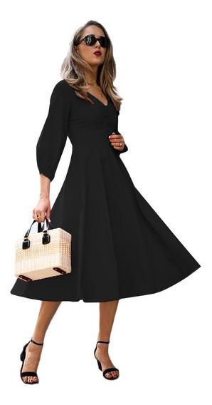 Sexy Elegante Vestido Vintage Princesa 610282