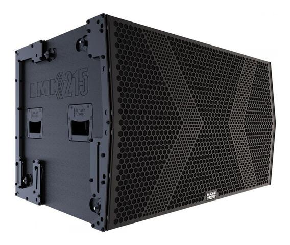 Caixa De Som Amplificado Sub Grave Mark Audio Line Lmk 215