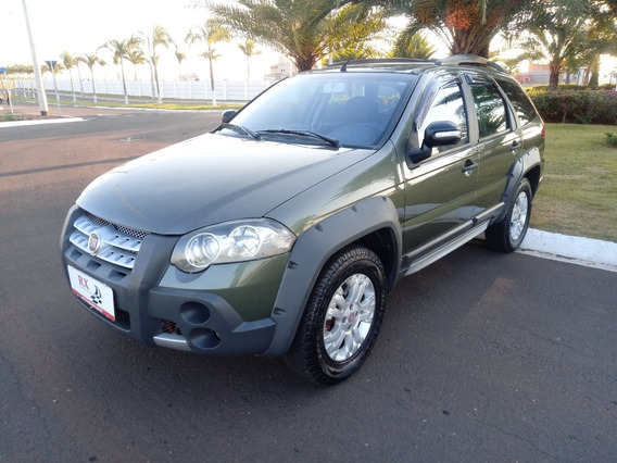 Fiat Palio Weekend Adv. Locker 1.8 Flex Verde 2009