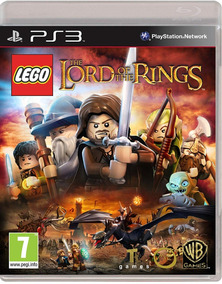 Lego Lord Of The Rings Original Ps3 Midia Fisica
