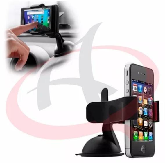 Suporte Veicular Universal Celular Gps Vidro Painel Kit C 2