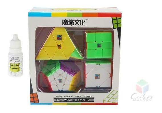 Kit Box Moyu + Lubrificante + 4 Bases Promoção