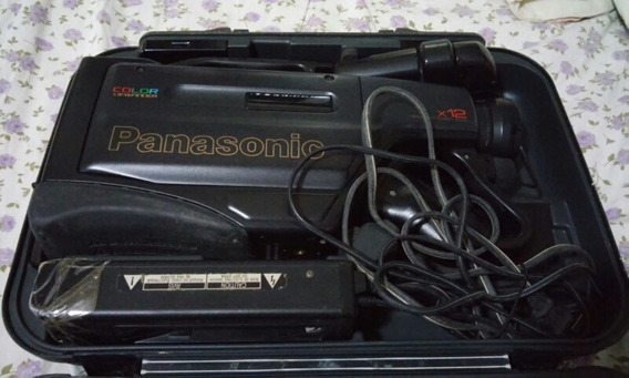 Filmadora Vhs Panasonic Color Viewfinder