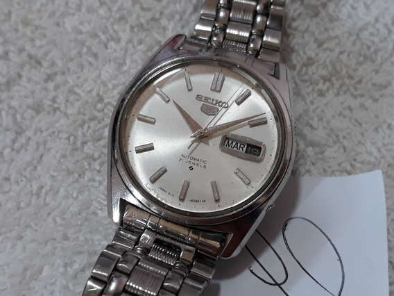 Relógio Seiko 6119, Masculino - Anos 70 - Lindo (brn) !