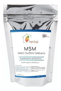 Msm Azufre Orgánico 1kg - Grado Alimenticio