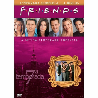 Friends Setima Temporada Completa 4 Dvds Novo Original!