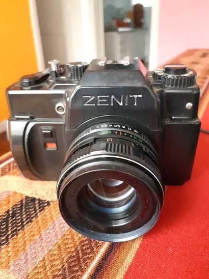 Câmera Analógica Zenit 122x Funcionando