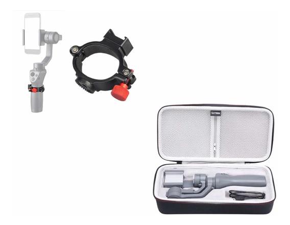 Bolsa - Case - Bag + Anel P/ Acessórios P/ Dji Osmo Móbile