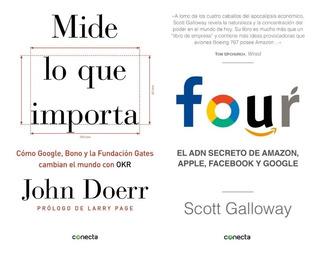 Pack Amazon, Google - Mide Lo Que Importa + Four De Galloway
