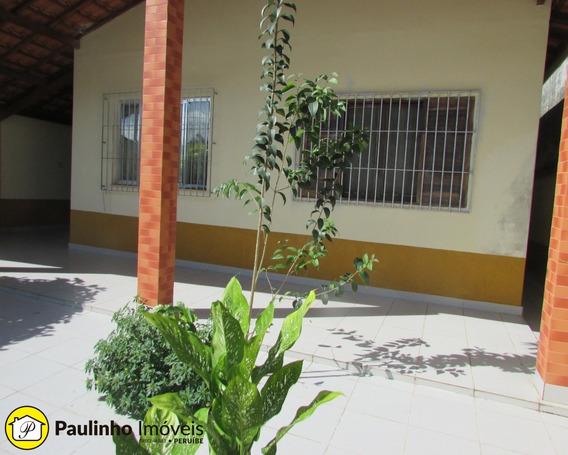 Casa Térrea A Venda Com Suíte Na Edícula A 700 Metros Da Praia De Peruíbe. - Ca03047 - 33263944
