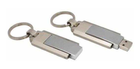 Pen Drive 4gb Giratório Metal Usado. Melhor Preço Do Ml