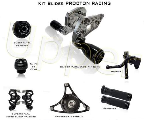 Kit De Slider Procton Racing Yamaha - Xj6n - Xj6 N - 10/17