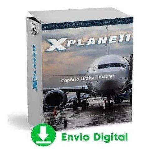 Simulador De Voo X-plane 11 Original Atualizado + Aeronaves