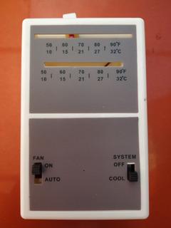 Termostato Aire Acondicionado Central 1 Etapa Fan Coil T300