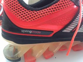 Tenis adidas Springblade Masculino Laranja E Preto Numero 41