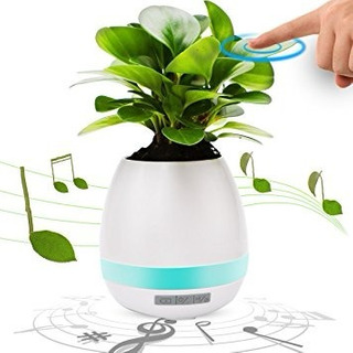 Maceta Musical Parlante Bluetooth 10% Off