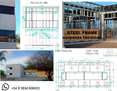 Steel Frame Carpeta Tecnica Constructiva
