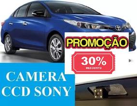 Câmera De Ré Toyota Yaris Sedan Ccd Sony Específica Original