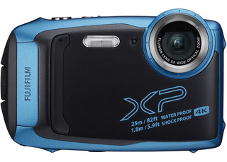 Fujifilm Cámara Digital Finepix Xp140 Azul Cielo Contra Agua