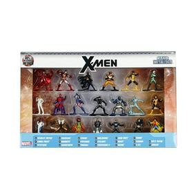 Miniaturas X-men Nano Metalfigs Com 20 Marvel Lindo