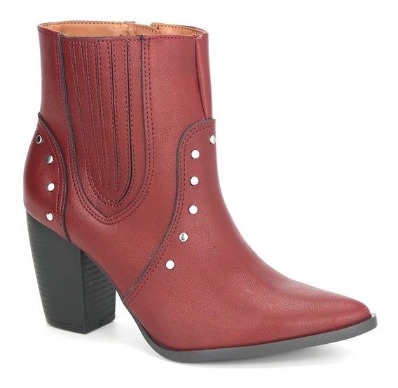 Promoção Bota Country Ankle Boot Feminino Via Marte 19-6002
