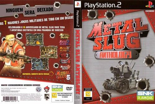 Coleção Metal Slug  Para Play Station 2 Com 7 Jogos