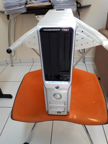 Computador Desktop Dell Dimension C521 Com Monitor Lcd 15