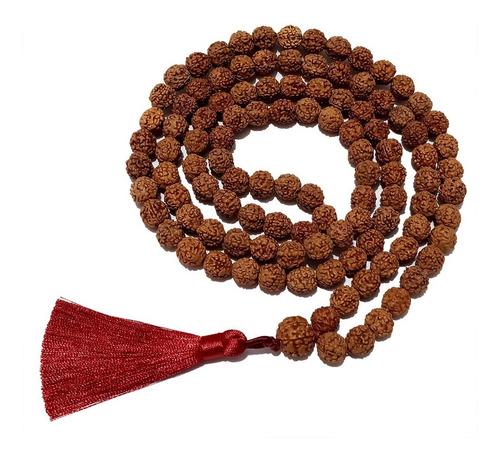 Jamapala Semente Rudraksha 108 Contas 10mm Tamanho Grande