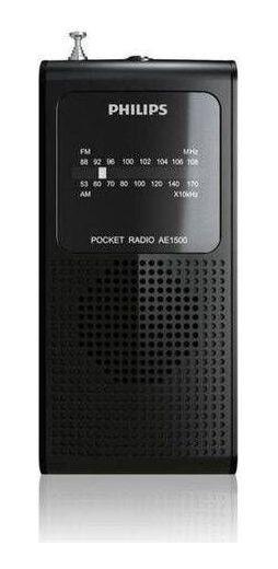Rádio Philips Portátil De Bolso Am Fm Á Pilha Ae1500/78