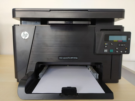 Impressora Multifuncional Color Laserjet Hp M176n Transfer