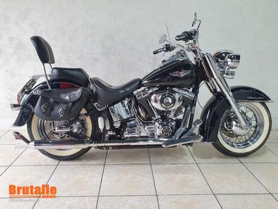 Harley Davidson Softail Deluxe Preta