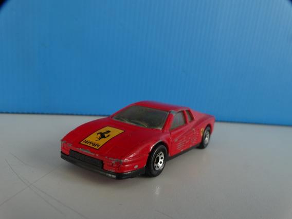 Ferrari Testarossa Vermelha - Matchbox 1:59 - Loose
