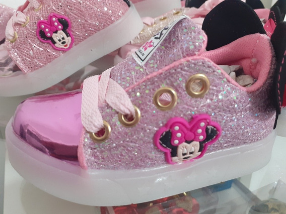 Zapatillas De Minnie Con Luces