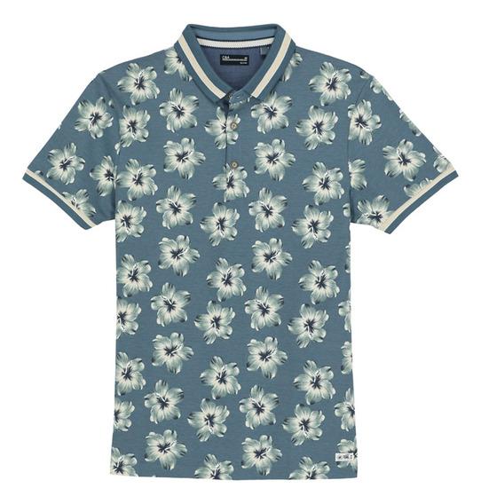 Camisa De Polo Micro Piqué De Hombre C&a 1050515